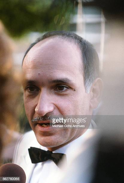 Actor Ben Kingsley arrives to the 55th Academy Awards at Dorothy Chandler Pavilion in Los AngelesCalifornia