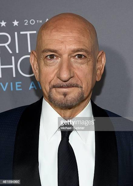 Actor Ben Kingsley attends the 20th annual Critics' Choice Movie Awards at the Hollywood Palladium on January 15 2015 in Los Angeles California