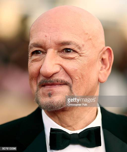 Actor Ben Kingsley attends The 22nd Annual Screen Actors Guild Awards at The Shrine Auditorium on January 30 2016 in Los Angeles California 25650_018
