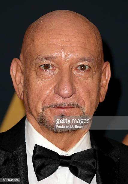 Actor Ben Kingsley attends the Academy of Motion Picture Arts and Sciences' 8th annual Governors Awards at The Ray Dolby Ballroom at Hollywood...