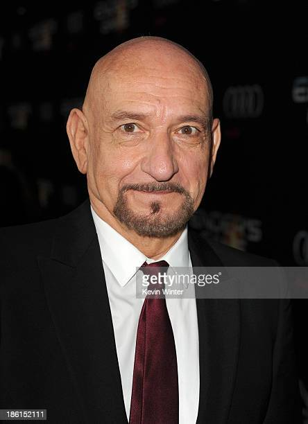 Actor Ben Kingsley attends the Premiere Of Summit Entertainment's Ender's Game at TCL Chinese Theatre on October 28 2013 in Hollywood California