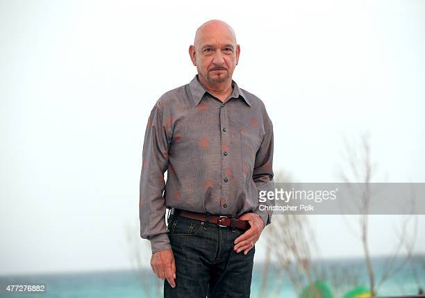 Actor Ben Kingsley attends the 'The Walk' photo call during Summer Of Sony Pictures Entertainment 2015 at The RitzCarlton Cancun on June 15 2015 in...