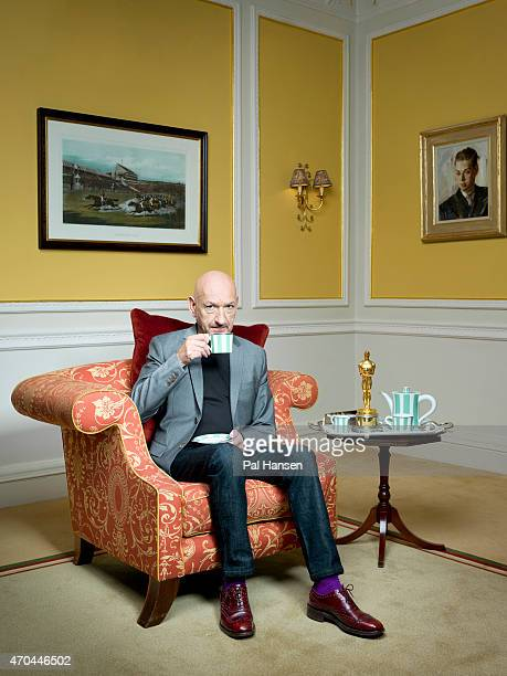 Actor Ben Kingsley is photographed for the Guardian on December 16 2014 in London England