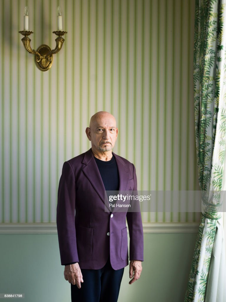 Actor Ben Kingsley is photographed for the Wall Street Journal on May 6, 2017 in London, England.