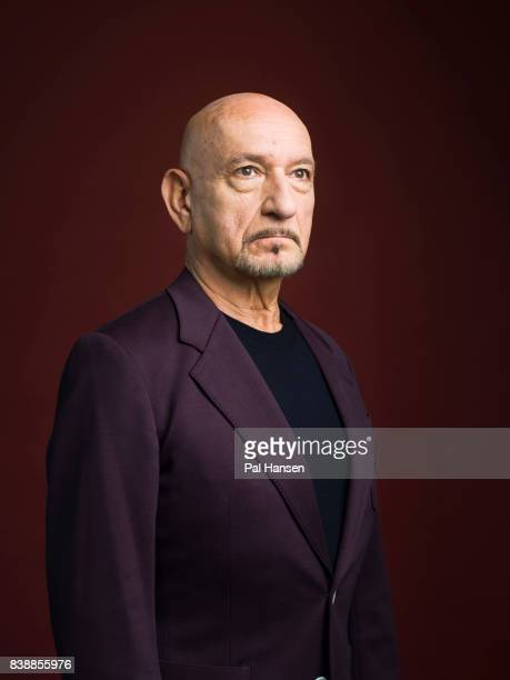 Actor Ben Kingsley is photographed for the Wall Street Journal on May 6 2017 in London England
