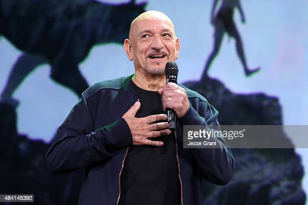 Actor Ben Kingsley of THE JUNGLE BOOK took part today in Worlds Galaxies and Universes Live Action at The Walt Disney Studios presentation at...