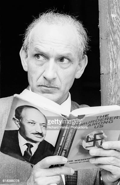 Actor Ben Kingsley plays Nazi hunter Simon Wiesenthal in the 1989 television miniseries Murderers Among Us The Simon Wiesenthal Story The Hungarian...