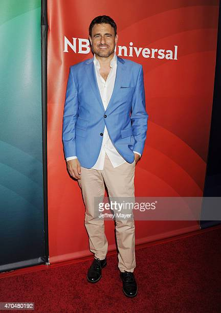 Actor Ben Koldyke attends the 2015 NBCUniversal Summer Press Day held at the The Langham Huntington Hotel and Spa on April 02, 2015 in Pasadena,...
