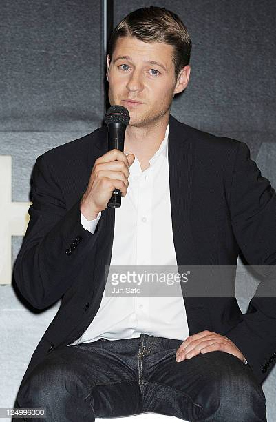 Actor Ben McKenzie attends a press conference for series three of 'Southland' at the RitzCarlton on September 15 2011 in Tokyo Japan