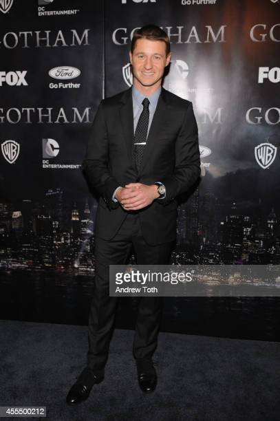 """Actor Ben McKenzie attends """"Gotham"""" Series Premiere at The New York Public Library on September 15, 2014 in New York City."""
