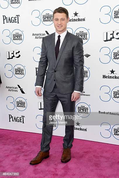 Actor Ben McKenzie attends the 2015 Film Independent Spirit Awards at Santa Monica Beach on February 21 2015 in Santa Monica California