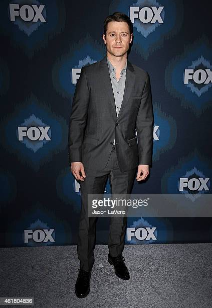 Actor Ben McKenzie attends the FOX winter TCA AllStar party at Langham Hotel on January 17 2015 in Pasadena California