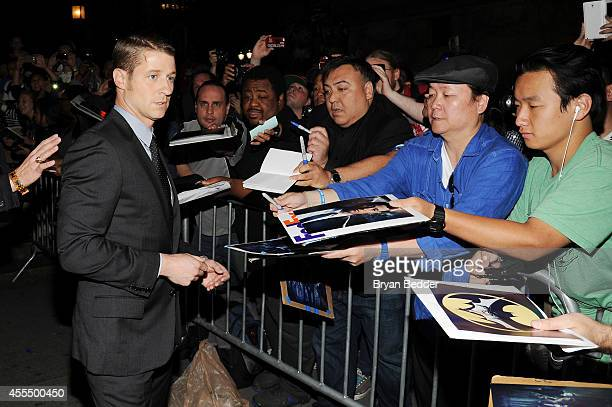 Actor Ben McKenzie attends the GOTHAM Series Premiere event on September 15 2014 in New York City