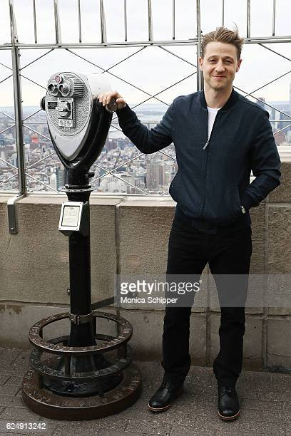 Actor Ben McKenzie Visits The Empire State Building To Promote 'Gotham' at The Empire State Building on November 21 2016 in New York City