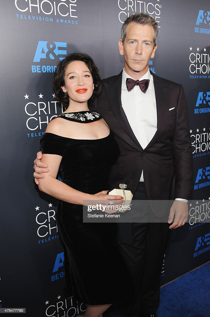 Actor Ben Mendelsohn (R) and Emma Nadine Forrest attend the 5th Annual Critics' Choice Television Awards at The Beverly Hilton Hotel on May 31, 2015 in Beverly Hills, California.