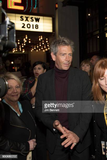 Actor Ben Mendelsohn arrives at the red carpet at the world premiere of Ready Player One during the SXSW Film Festival on March 11 2018 in Austin...