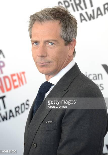 Actor Ben Mendelsohn arrives for the 2018 Film Independent Spirit Awards on March 3 2018 in Santa Monica California