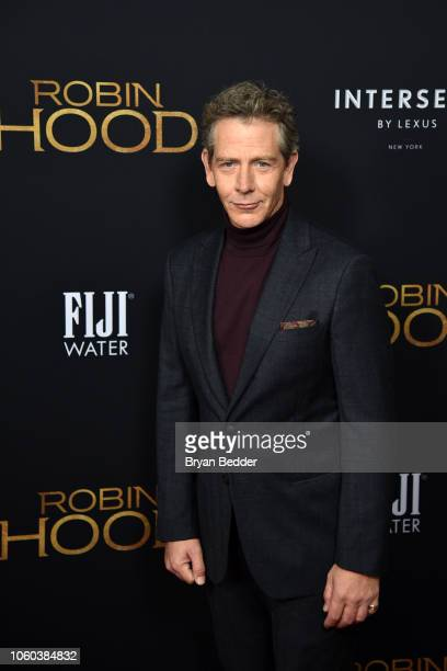 Actor Ben Mendelsohn attends FIJI Water at The New York Special Screening of 'Robin Hood' at AMC Loews Lincoln Square on November 11 2018 in New York...