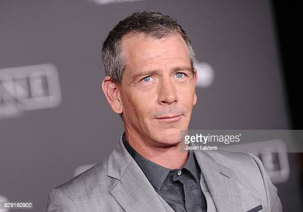 Actor Ben Mendelsohn attends the premiere of Rogue One A Star Wars Story at the Pantages Theatre on December 10 2016 in Hollywood California