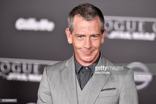 Actor Ben Mendelsohn attends the premiere of Walt Disney Pictures and Lucasfilm's Rogue One A Star Wars Story at the Pantages Theatre on December 10...
