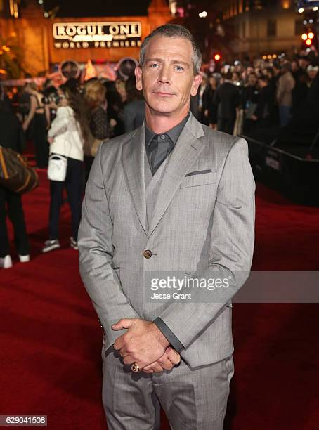 Actor Ben Mendelsohn attends The World Premiere of Lucasfilm's highly anticipated firstever standalone Star Wars adventure Rogue One A Star Wars...