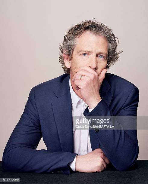 Actor Ben Mendelsohn poses for a portrait at the BAFTA Los Angeles Awards Season Tea at the Four Seasons Hotel on January 9 2016 in Los Angeles...