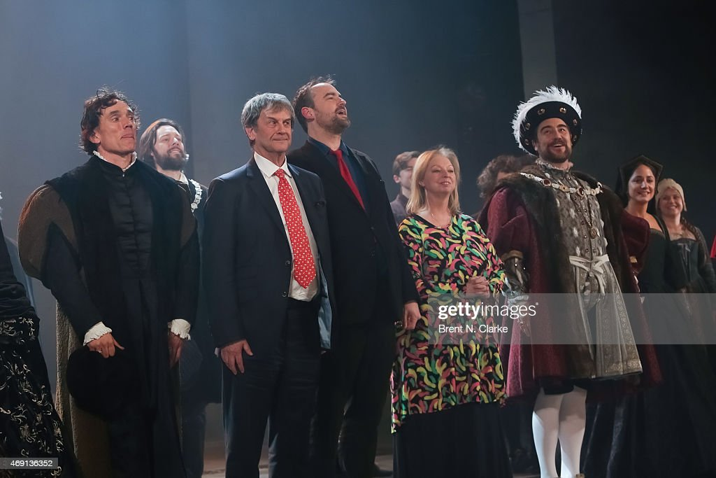 """Wolf Hall"" Opening Night - Curtain Call"