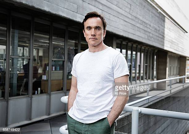Actor Ben Miles is photographed for the Times on May 6, 2016 in London, England.
