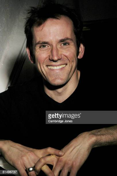 Actor Ben Miller poses at his home during a photo session on November 26, 2003 in London, England.