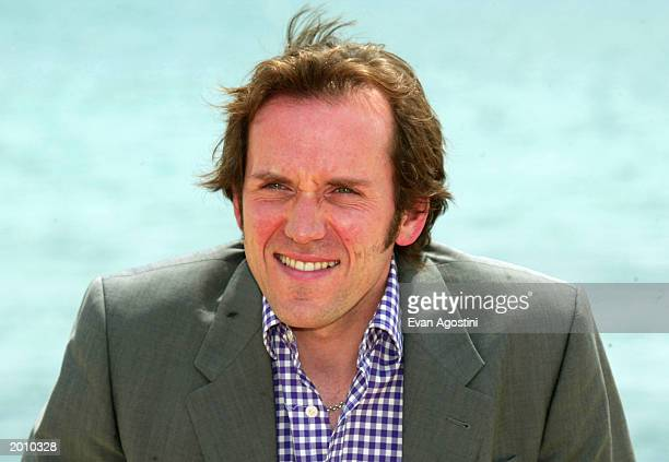 """Actor Ben Miller poses at the photocall for """"The Prince and the Freshman"""" at the Majestic Pier during 56th International Cannes Film Festival 2003 on..."""