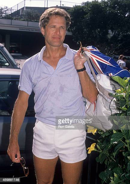 Actor Ben Murphy attends the Third Annual Joan Rivers Celebrity Tennis/Auction Classic to Benefit the Cystic Fibrosis Foundation on November 12 1988...