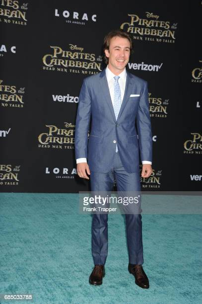Actor Ben O'Toole arrives at the premiere of Disney's 'Pirates of the Caribbean Dead Men Tell No Tales' at the Dolby Theatre on May 18 2017 in...