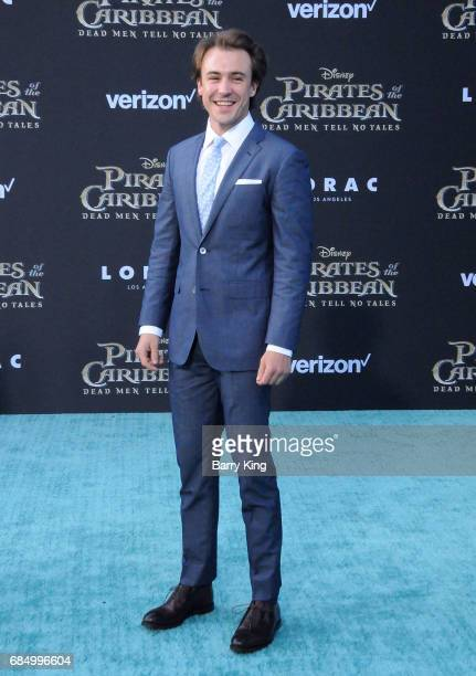 Actor Ben O'Toole attends premiere of Disney's 'Pirates Of The Caribbean Dead Men Tell No Tales' at Dolby Theatre on May 18 2017 in Hollywood...