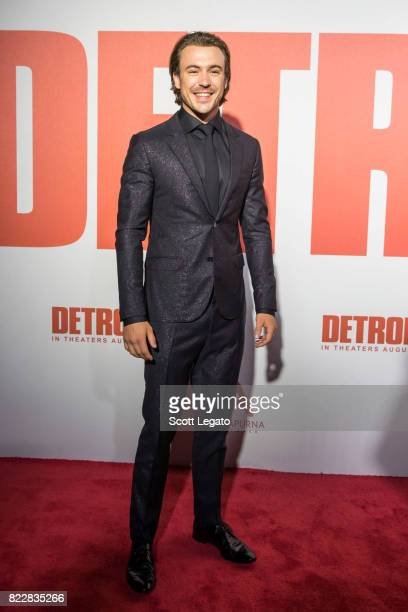 Actor Ben O'toole attends the 'Detroit' world premiere at Fox Theatre on July 25 2017 in Detroit Michigan