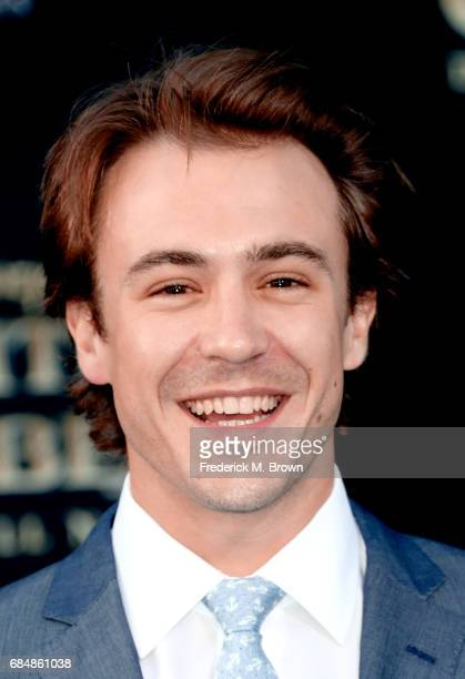 Actor Ben O'Toole attends the premiere of Disney's 'Pirates Of The Caribbean Dead Men Tell No Tales' at Dolby Theatre on May 18 2017 in Hollywood...