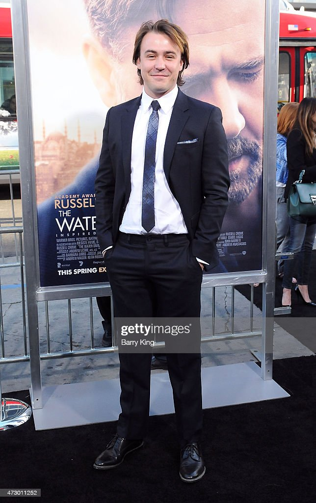 Actor Ben O'Toole attends the premiere of 'The Water Diviner' at TCL Chinese Theatre IMAX on April 16, 2015 in Hollywood, California.