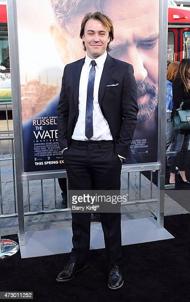 Actor Ben O'Toole attends the premiere of 'The Water Diviner' at TCL Chinese Theatre IMAX on April 16 2015 in Hollywood California