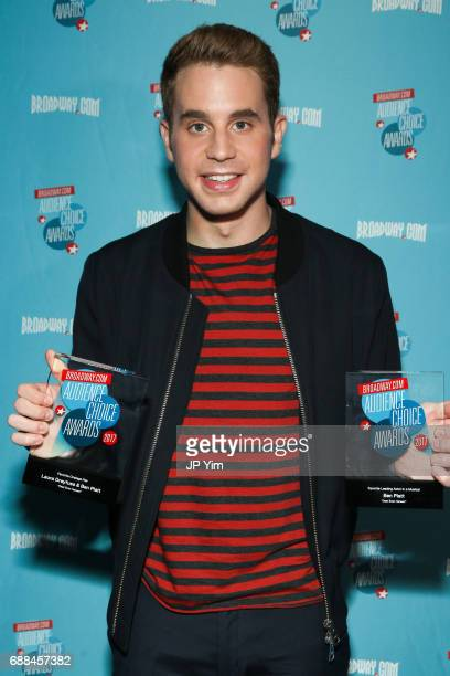 Actor Ben Platt attends the 17th Annual Broadwaycom Audience Choice Awards at 48 Lounge on May 25 2017 in New York City