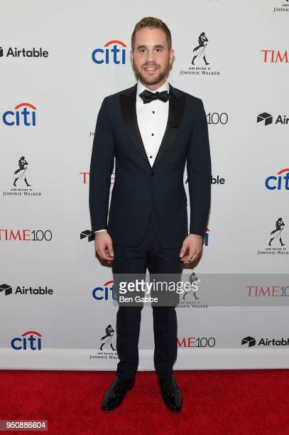 Actor Ben Platt attends the 2018 Time 100 Gala at Jazz at Lincoln Center on April 24 2018 in New York City