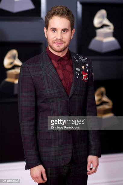 Actor Ben Platt attends the 60th Annual GRAMMY Awards at Madison Square Garden on January 28 2018 in New York City