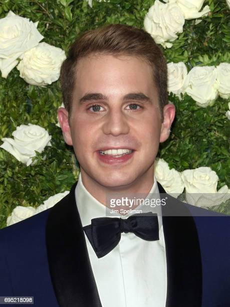 Actor Ben Platt attends the 71st Annual Tony Awards at Radio City Music Hall on June 11 2017 in New York City