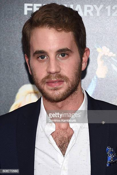 Actor Ben Platt attends the New York premiere of How To Be Single at the NYU Skirball Center on February 3 2016 in New York City