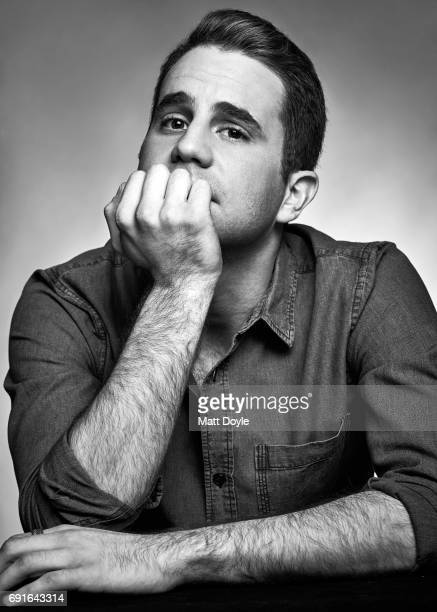 Actor Ben Platt photographed for Back Stage on March 16 in New York City