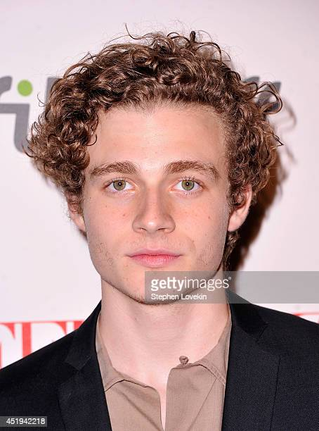 Actor Ben Rosenfield attends the Affluenza premiere at SVA Theater on July 9 2014 in New York City