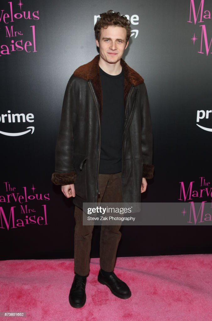 Actor Ben Rosenfield attends 'The Marvelous Mrs. Maisel' New York Premiere at Village East Cinema on November 13, 2017 in New York City.