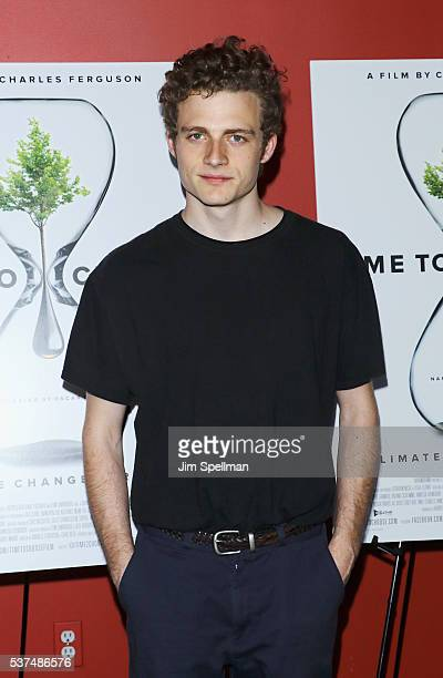 Actor Ben Rosenfield attends the 'Time To Choose' New York screening at Landmark's Sunshine Cinema on June 1 2016 in New York City