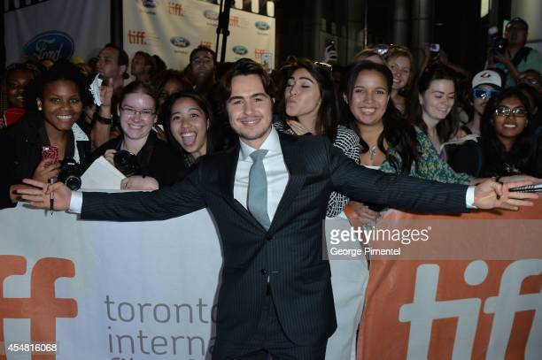 Actor Ben Schnetzer attends The Riot Club premiere during the 2014 Toronto International Film Festival at Roy Thomson Hall on September 6 2014 in...