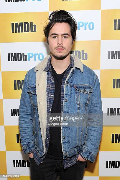 Actor Ben Schnetzer in The IMDb Studio In Park City Utah Day One Park City on January 22 2016 in Park City Utah