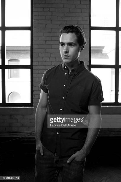 Actor Ben Schnetzer is photographed for MovieMaker Magazine on September 10 2016 in Toronto Canada
