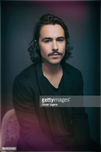 Actor Ben Schnetzer is photographed for Self Assignment on April 2018 in Cannes France